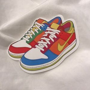 Colorful NIKE sticker